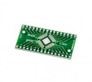 SMD adaptér z QFN32 QFP32 0.65mm 0.8mm na DIP32 2.54mm