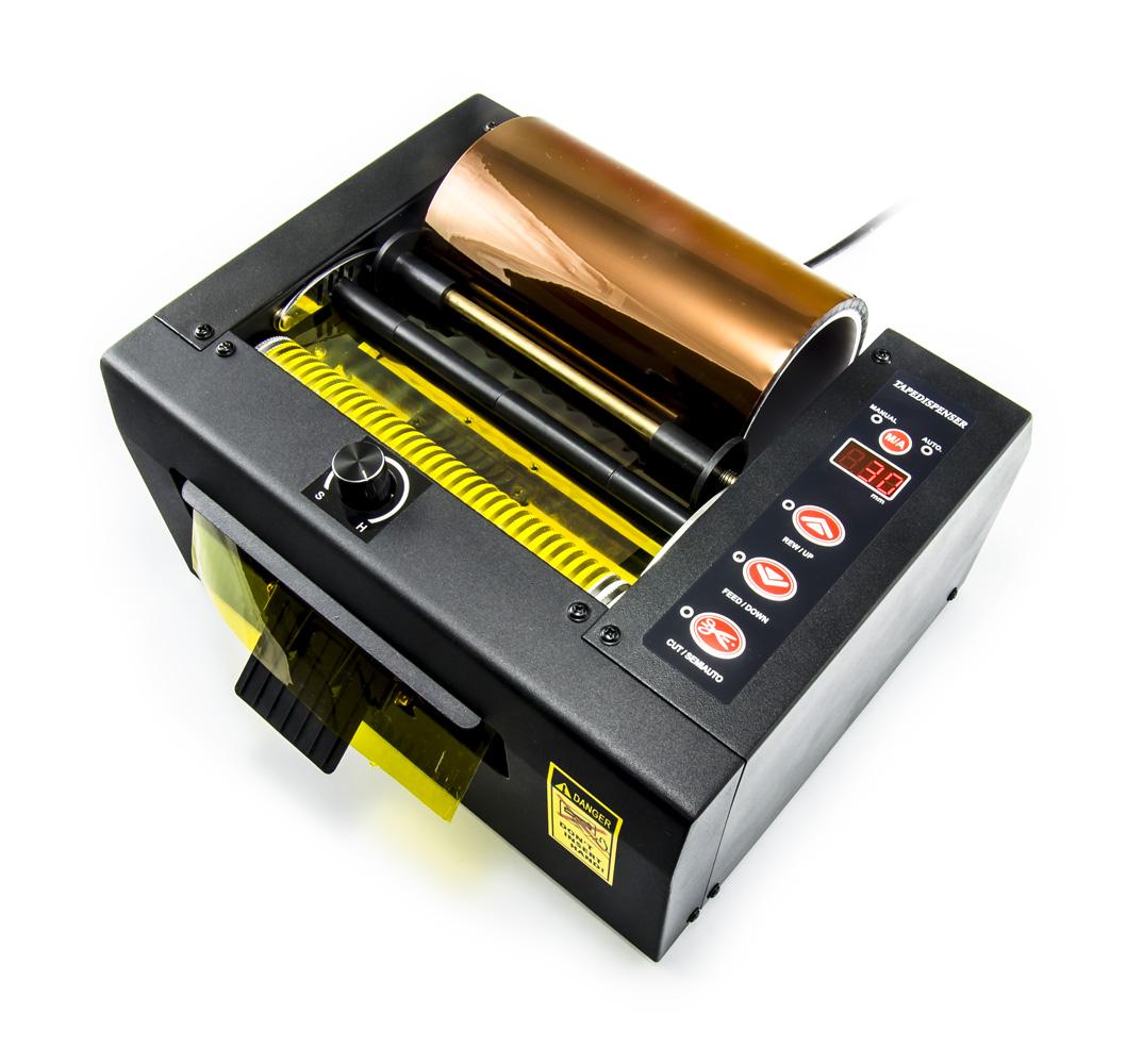 Automatický dávkovač a řezač lepících pásek SVD-150 do šířky 150mm