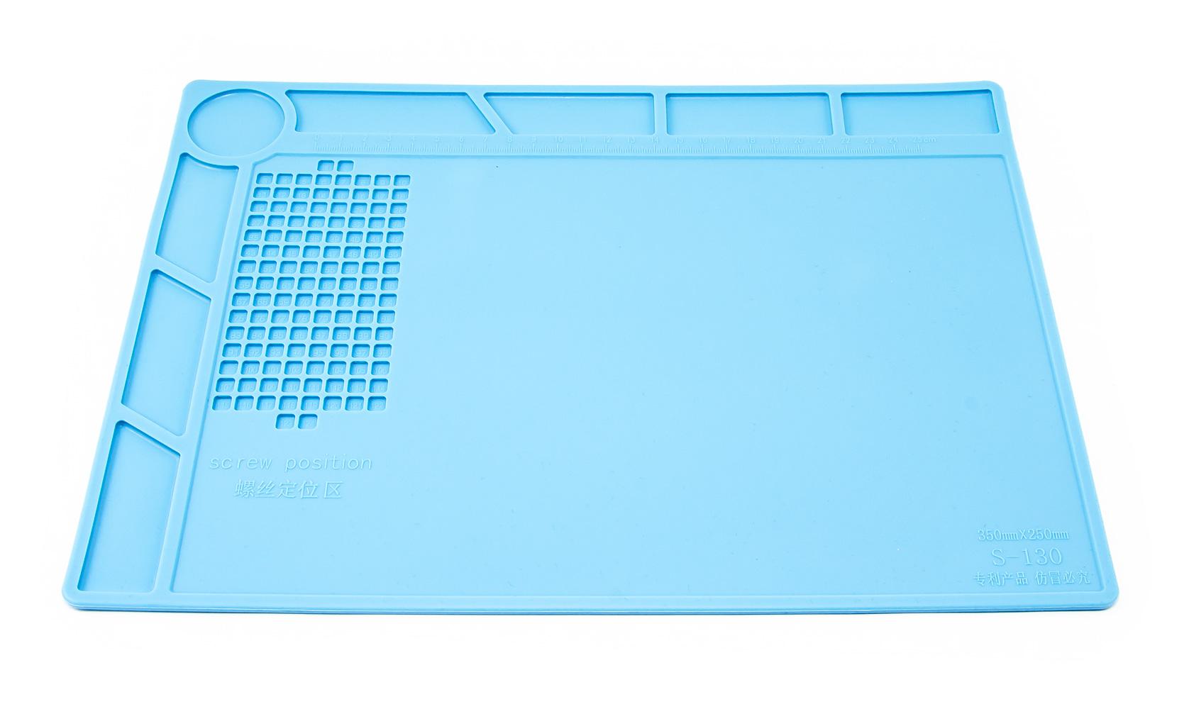 Silikonová podložka pro servis mobilních telefonů a tabletů 35x25cm