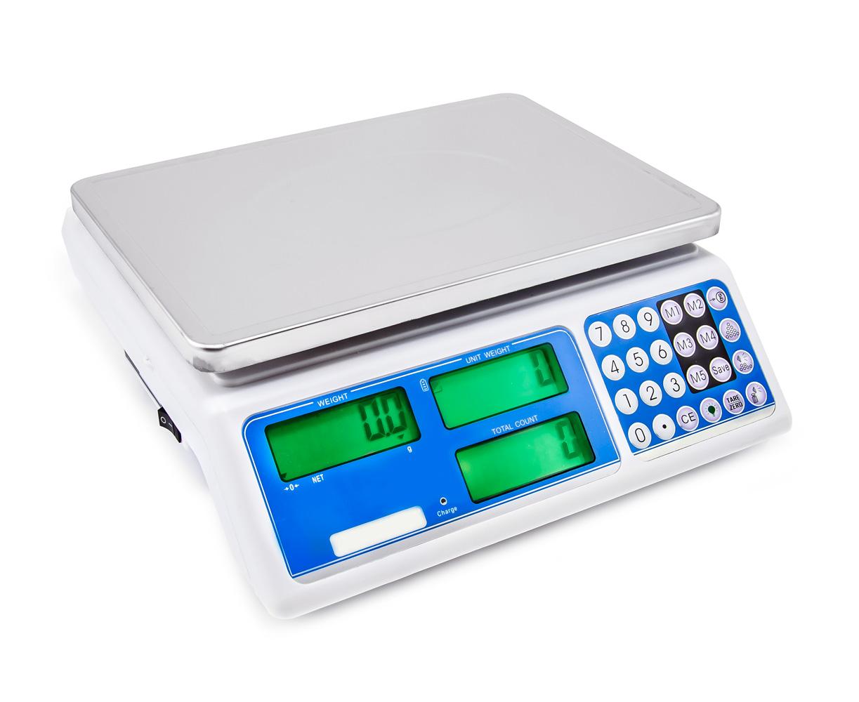 Přesná stolní váha s počítáním ACS-1.5JS 0.05g / 1.5kg