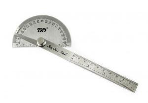 Dílenský ocelový úhloměr 0-180°