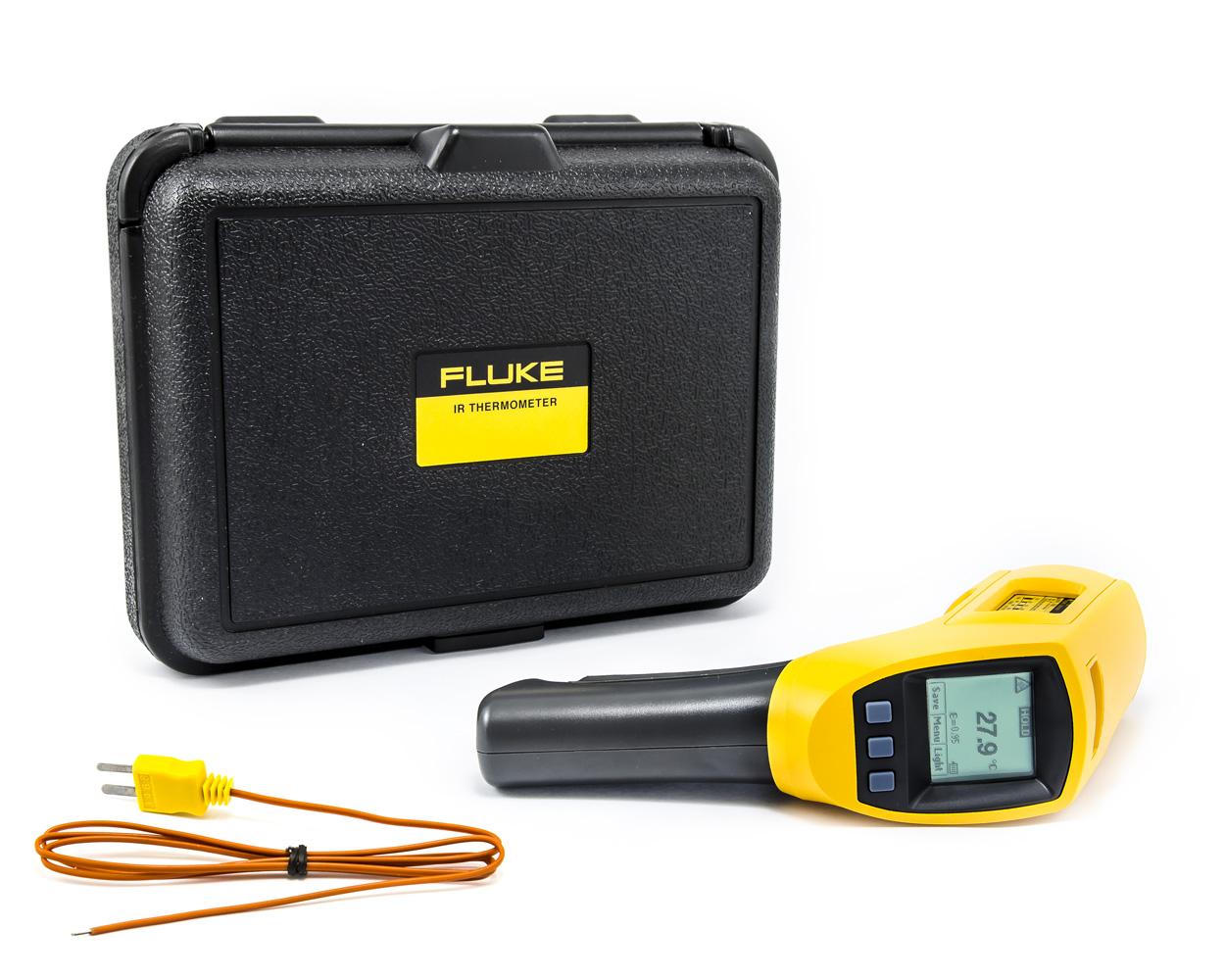 Bezkontaktní IR teploměr FLUKE 566-2 -35 až 750°C s termočlánkovou K sondou