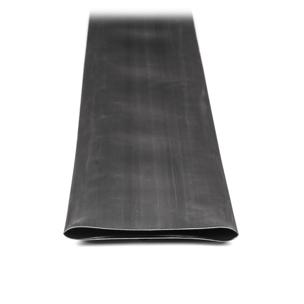 Teplem smrštitelná trubice s lepidlem černá 120cm 100mm