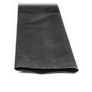 Teplem smrštitelná trubice s lepidlem černá 120cm 125mm