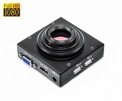 Full HD 1080p CS kamera pro mikroskopy s vlastním SMART OS, VGA, HDMI