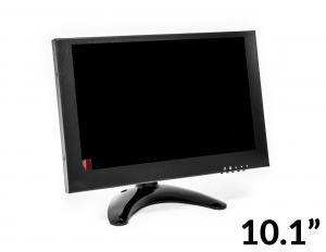"LCD VA monitor 10.1"" 1920x1080 HDMI BNC VGA AV, kovové provedení"