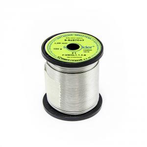 Výrobek: Trubičkový cín Solder S-Sn97Cu3 F1 1mm 100g