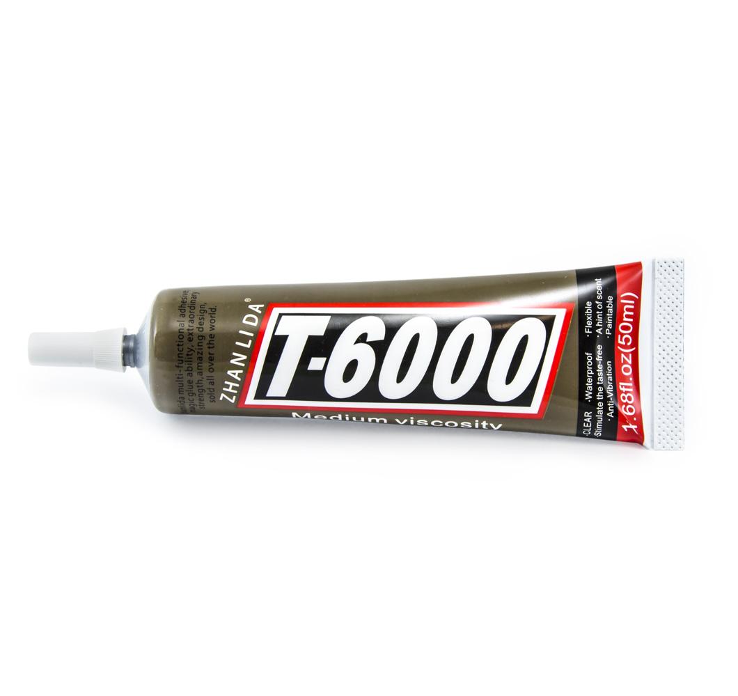 Univerzální lepidlo T-6000 na sklo, plast, kov, gumu i papír 50ml