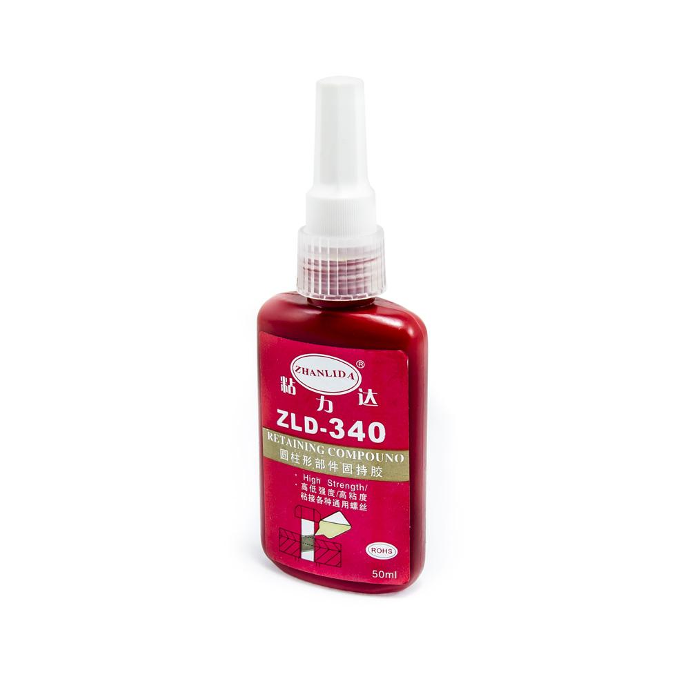 Anaerobní lepidlo (zajišťovač) na šrouby a závity ZLD-340, těsnící čiré 50ml