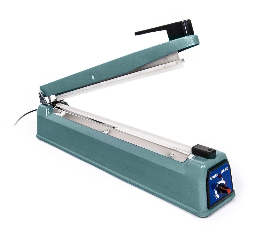Impulsní svářečka fólií SF-400 s širokým svarem 8mm, délka 400mm