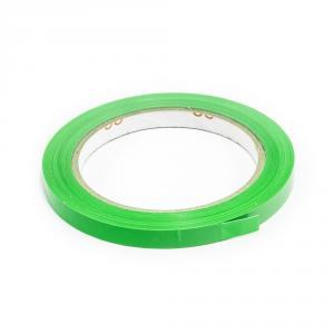 Lepící páska pro zavírání sáčků, šíře 9 mm, zelená