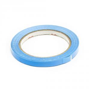 Lepící páska pro zavírání sáčků, šíře 9 mm, světle modrá