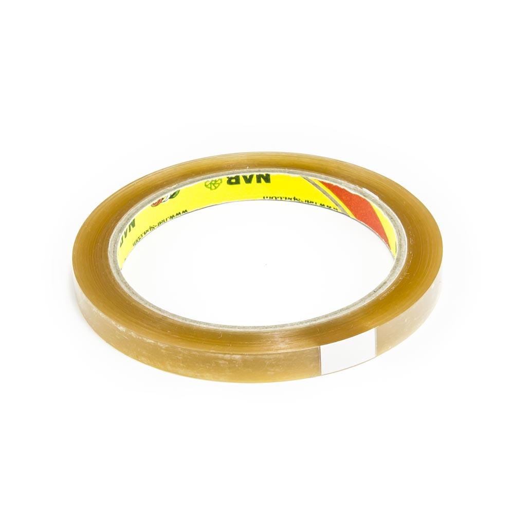 Lepící páska pro zavírání sáčků, šíře 9 mm, průhledná