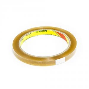 Výrobek: Lepící páska pro zavírání sáčků, šíře 9 mm, průhledná