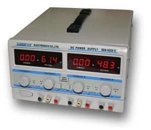 Dvojitý laboratorní zdroj RXN-605D-II - 2x60V/5A, 120V/5A, 60V/10A
