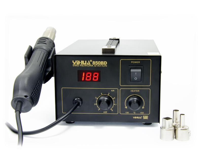 Horkovzdušná pájecí stanice s dmychadlem typ 850BD