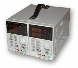 Precizní programovatelný dvojitý zdroj 2x30V/3A,60V/3A,30V/6A typ KA3003D-2S