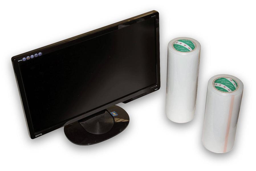 Páska pro ochranu LCD tabletů a monitorů role 25cm