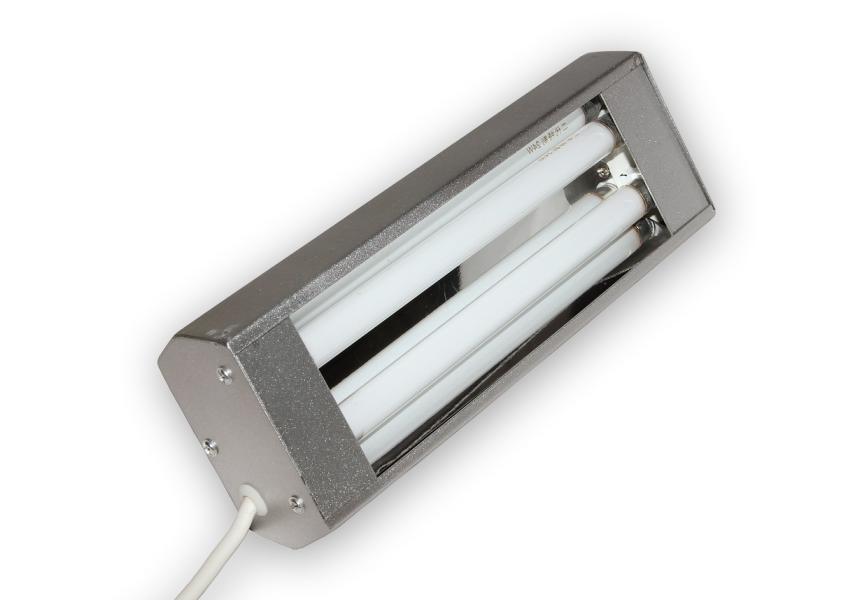 UV výbojka pro osvit a vytvrzování lepidel ultrafialovým zářením