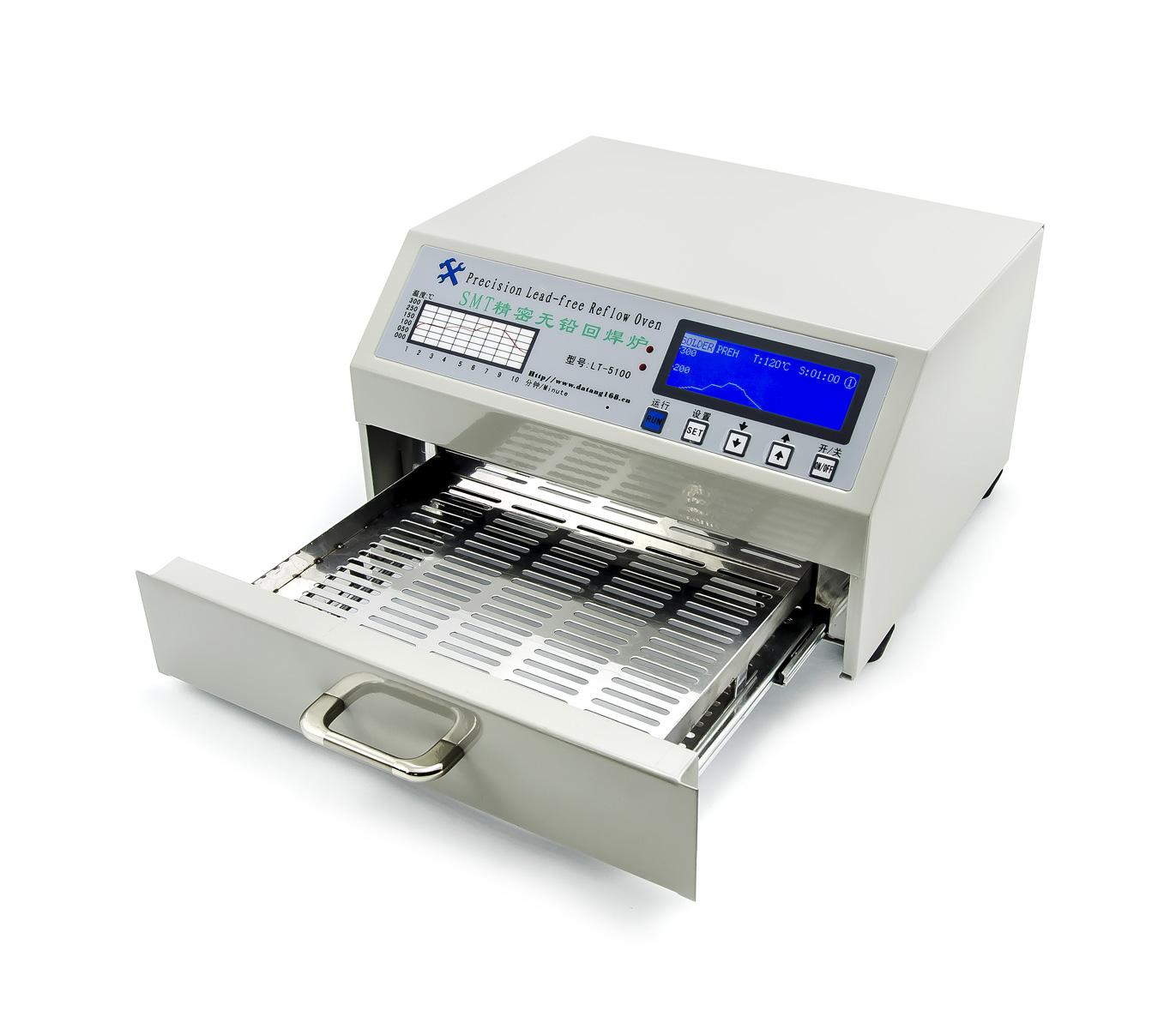 Infračervená bezolovnatá pájecí mini pec LT-5100