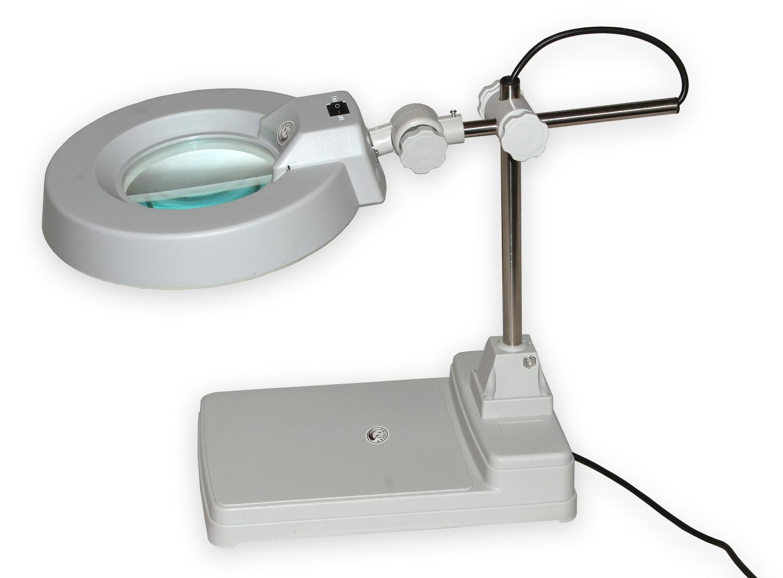 Lampa s kruhovou lupou typové řady T86-B zvětšení 5D