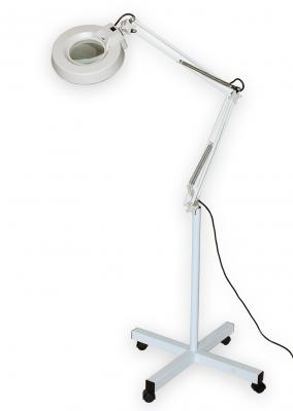 Lampa s kruhovou lupou typové řady T86-E zvětšení 10D