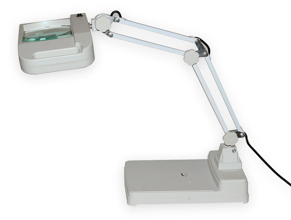 Lampa s velkoplošnou lupou T86-I zvětšení 8D