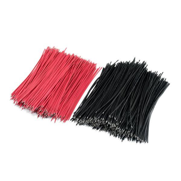 Měděná pocínovaná lanka (černé, délka 60mm)