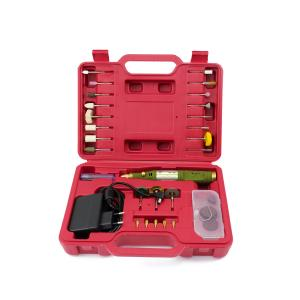 Mikrofréza a vrtací bruska se sadou nástrojů typ WL-800