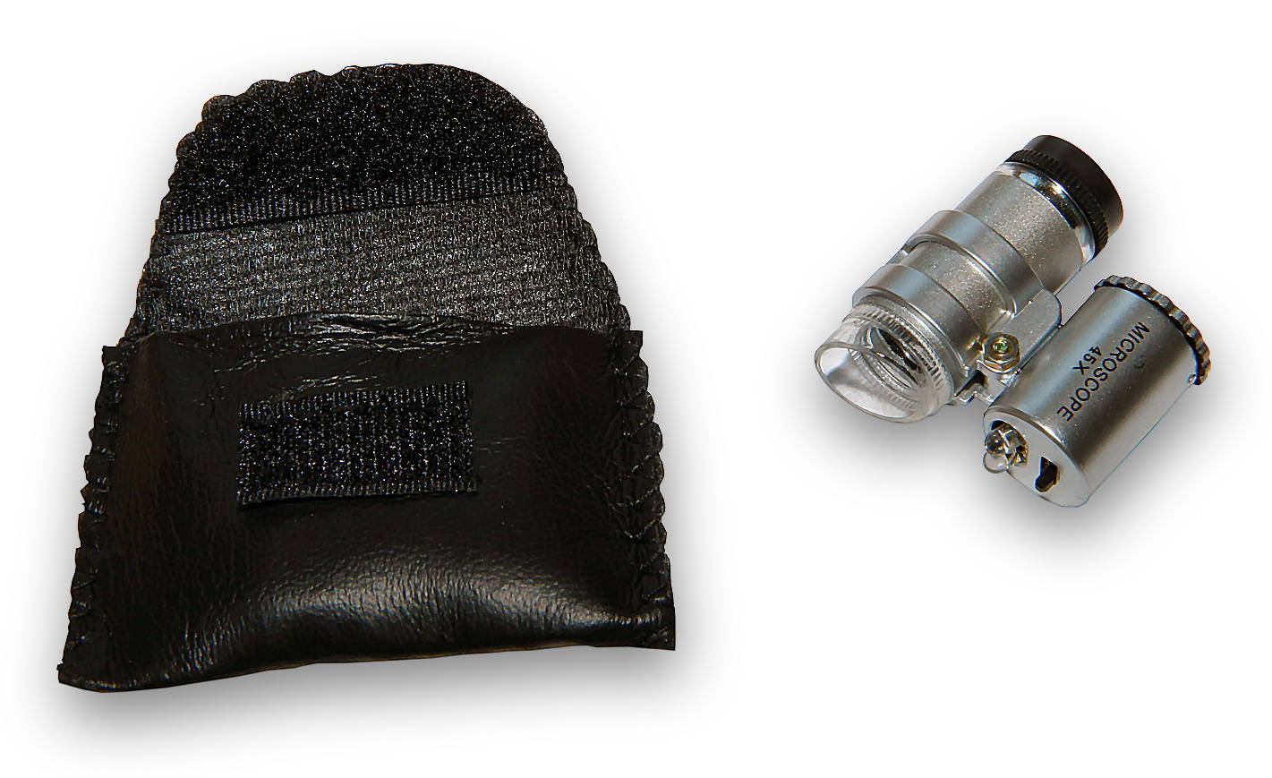 Kapesní kontaktní miniaturní mikroskopy se zvětšením 45x