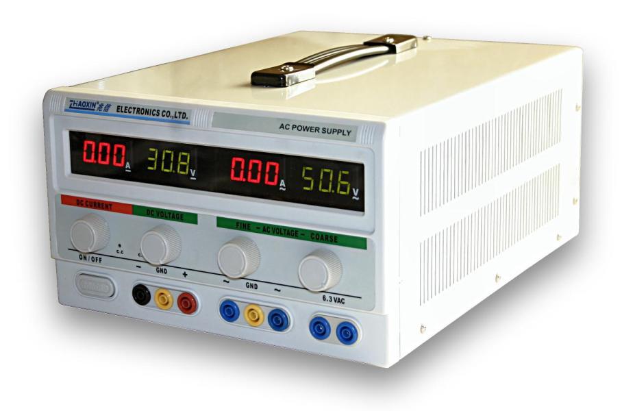 Střídavý kombinovaný regulovaný zdroj ACDC5002