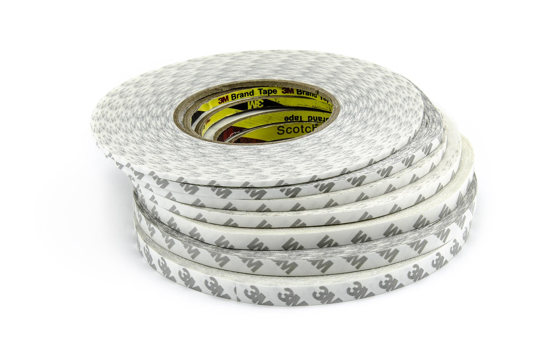 Oboustranná lepící páska transparentní šíře 3mm