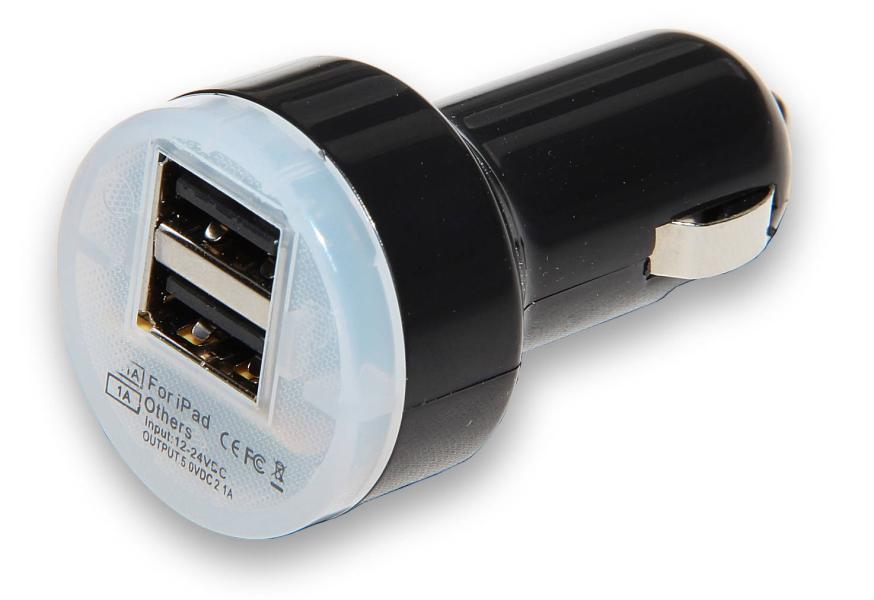 Cigaretový adaptér pro nabíjení USB zařízení