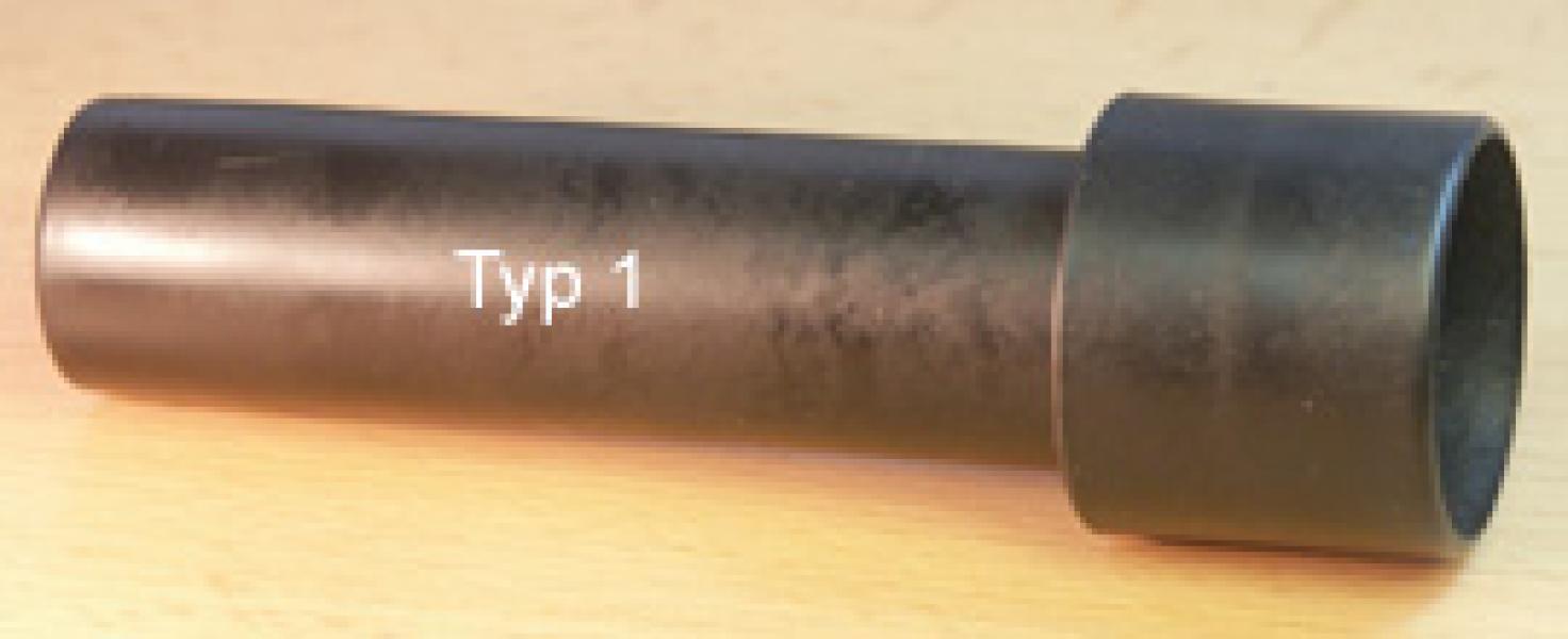 Plastová rukojeť pro horký vzduch (typ 1)