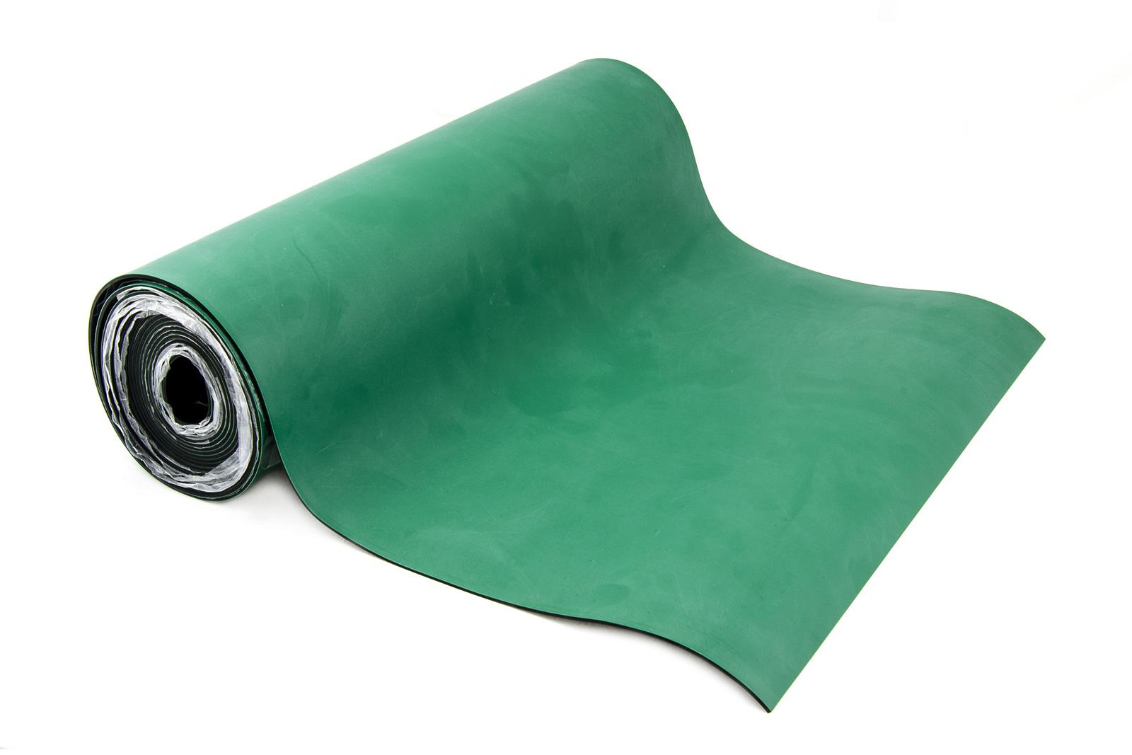 Antistatická tepluvzdorná podložka šíře 80cm zelená