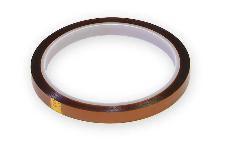 Kaptonová tepluvzdorná páska šíře 10mm