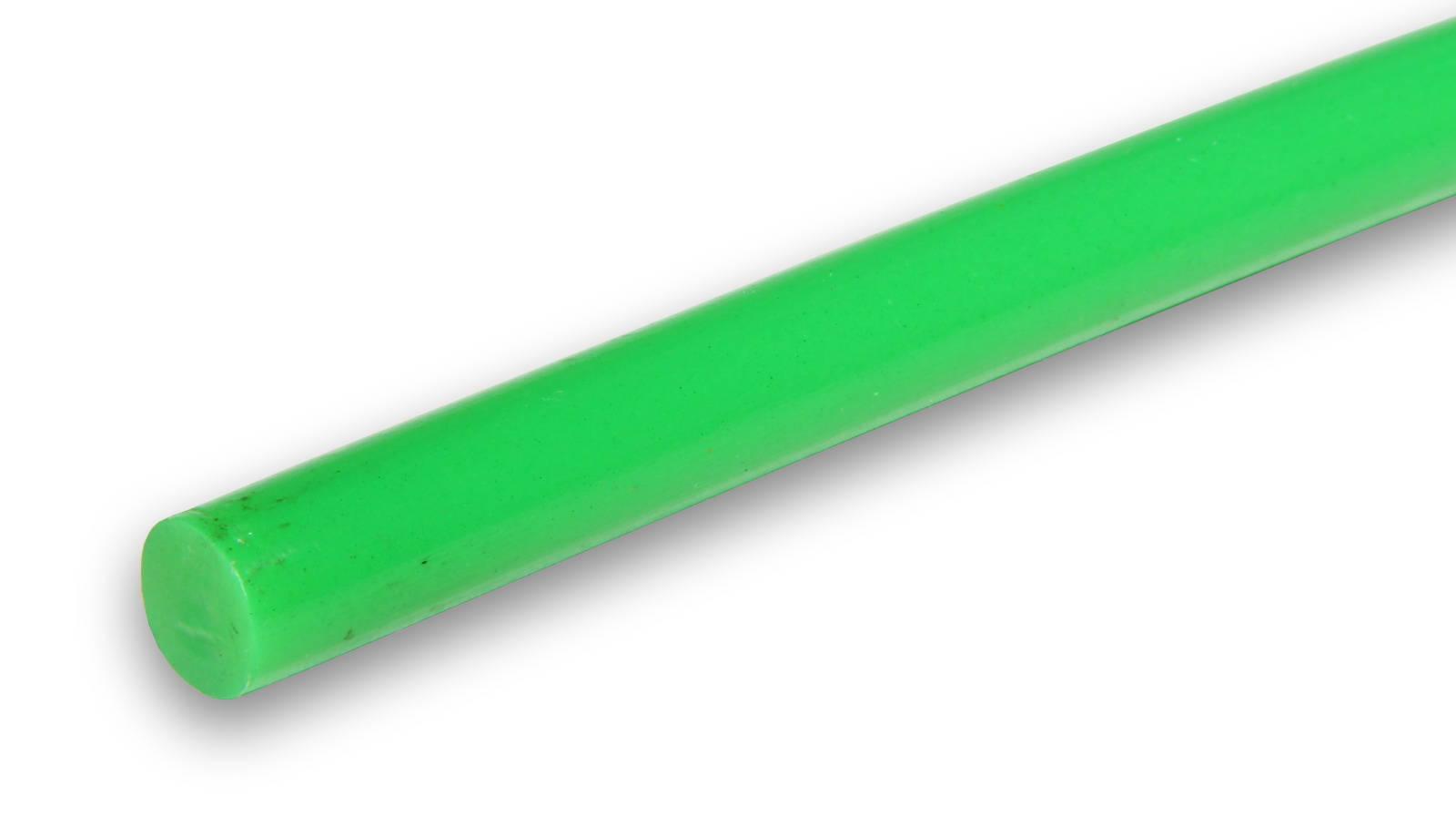 Tyčinka do tavné pistole zelená průměr 11mm 1ks
