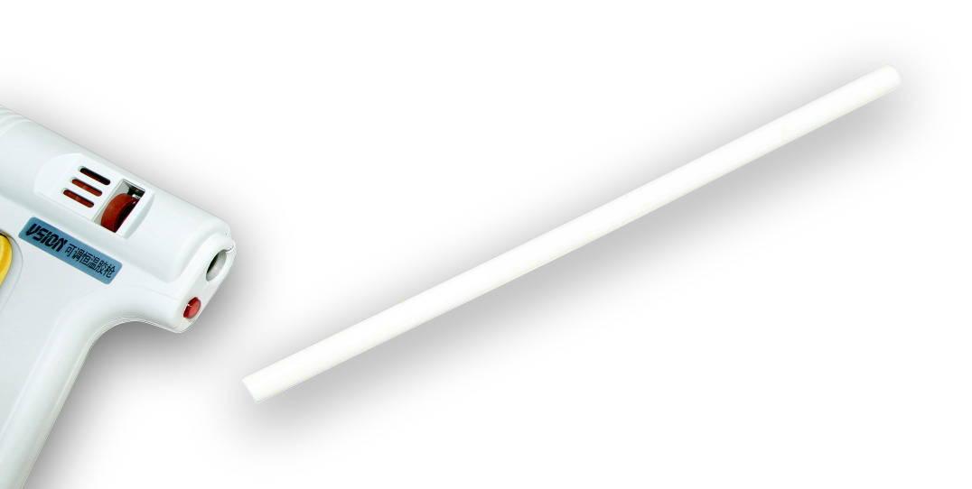 Tyčinka do tavné pistole bílá průměr 11mm 1ks