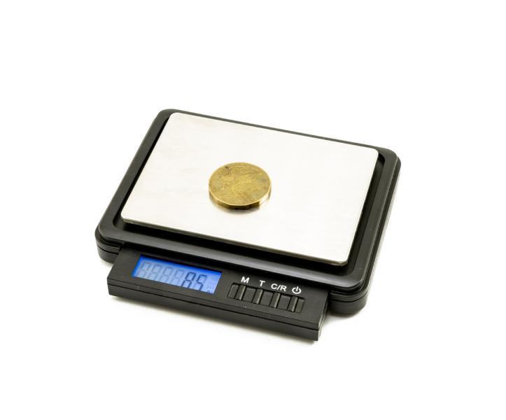 Digitální dopisní váha s odchylkou 0,025g