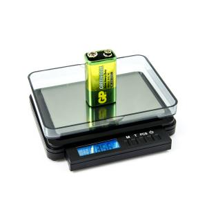 Výrobek: Digitálna listová váha s váživosťou 2kg a dielikom 0,1g