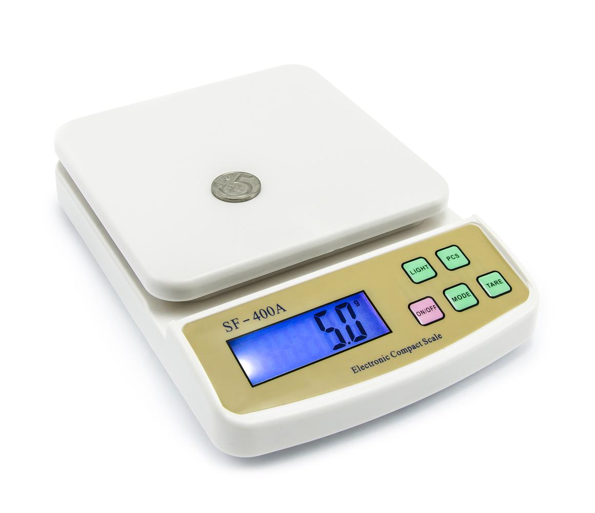 Digitální dopisní a balíková váha s váživostí do 5kg typ SF-400A