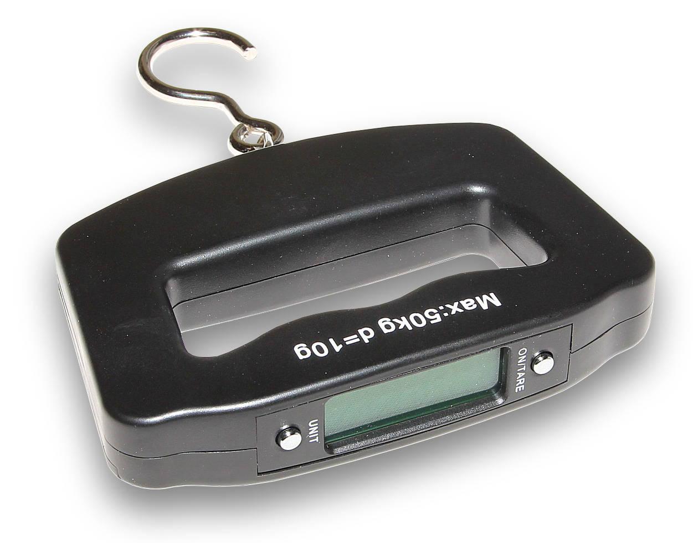 Cestovní mini váha na zavazadla do 50kg