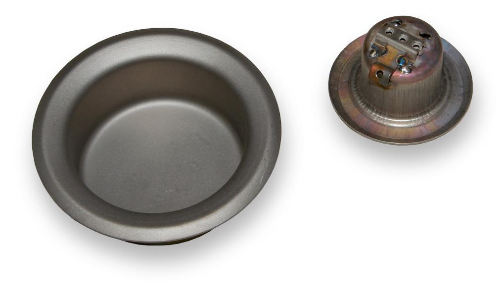 Náhradní kruhové titanové vany pro cínové lázně řady BD Vana pro BD-36mm
