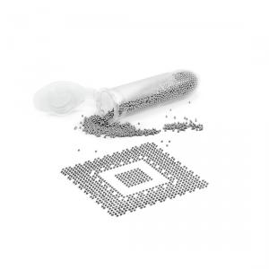 Cínové kuličky Pro BGA (malé balení) 1000 kuliček 0,35mm