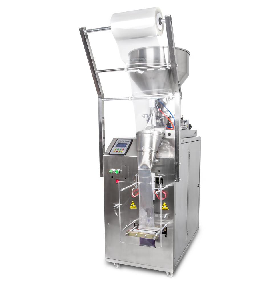 Balící stroj a dávkovač tekutin do obalů flow pack 15ml až 360ml