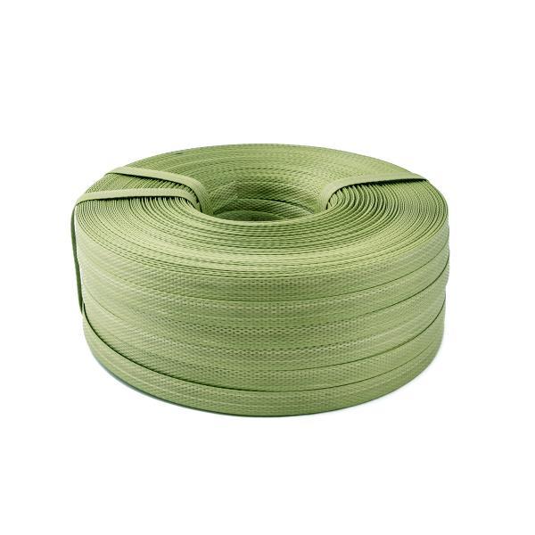 PP vázací páska 15 x 1,3mm 200m zelená