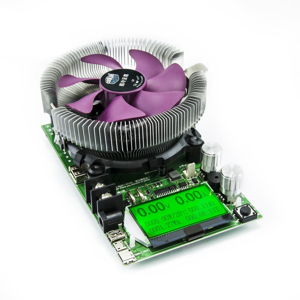 Elektronická DC zátěž pro měření kapacity baterií 200V 20A 150W
