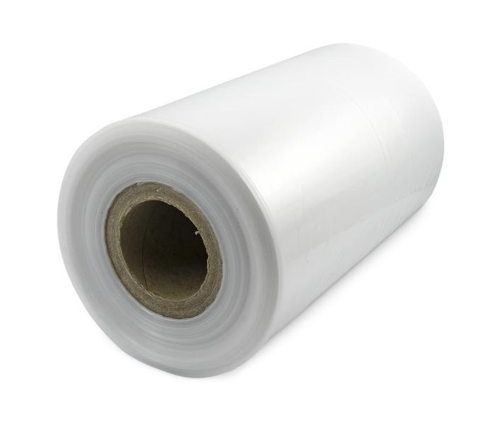 Teplem smrštitelná LDPE fólie - tunel, 30micron, šířka 350mm, délka 400m