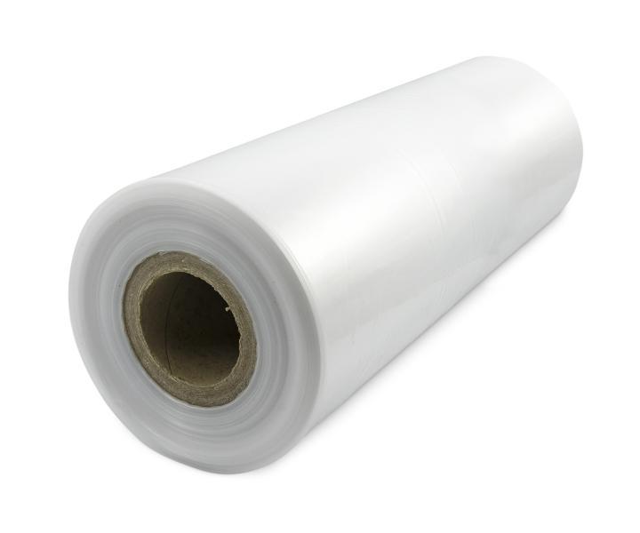Teplem smrštitelná LDPE fólie - tunel, 30micron, šířka 550mm, délka 400m