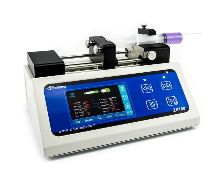 Stříkačková (injekční) laboratorní pumpa CR ZS100 10ul - 60ml